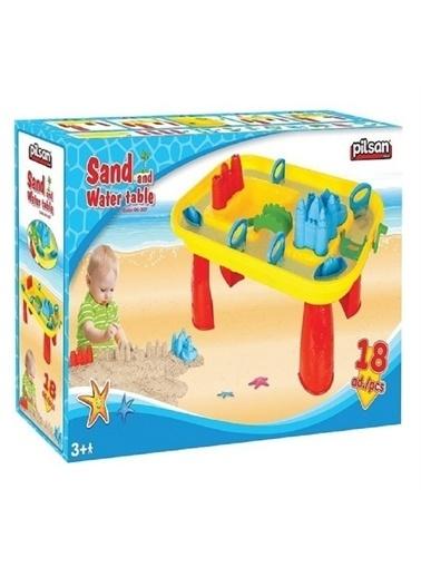 Pilsan Pilsan Kum Ve Su Oyunu - Çocuk Zeka Geliştirici Kum Oyunu Renkli